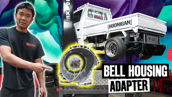 Rotary Pit Truck Gets Racecar Stuff: Sequential Transmission Custom Bellhousing // 621 Golden Ep 017
