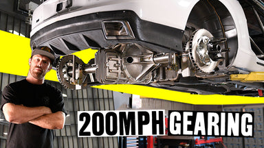 Prepping For 200mph on our Duramax Swapped Camaro! BIG Solid Axle + BIG Brakes