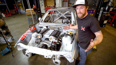 Are Two Throttle Bodies Better Than One? Cross-Ram Intake Installation on our Scrap Yard M3?