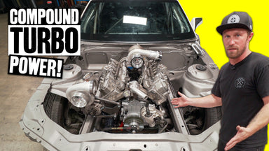 Chopping Up Our Camaro's Engine Bay to Fit the Duramax Diesel: Big Motor Problems!