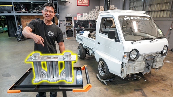 Rotary Powered Pit Truck Intake Manifold! Suppy Flexes his Fab Skills // 621 Golden Ep.012
