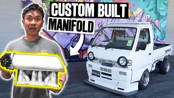 Pit Truck Progress! Suppy Finishes a 13b Intake Manifold - Made From Scratch // 621 Golden Ep.013