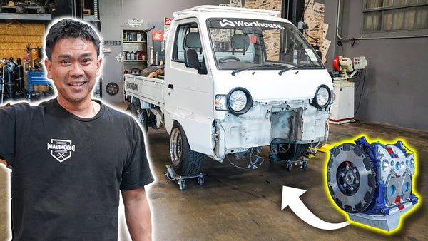 Our Ultimate Pit Truck Gets its Rotary Heart Implanted // 621 Golden Ep.011