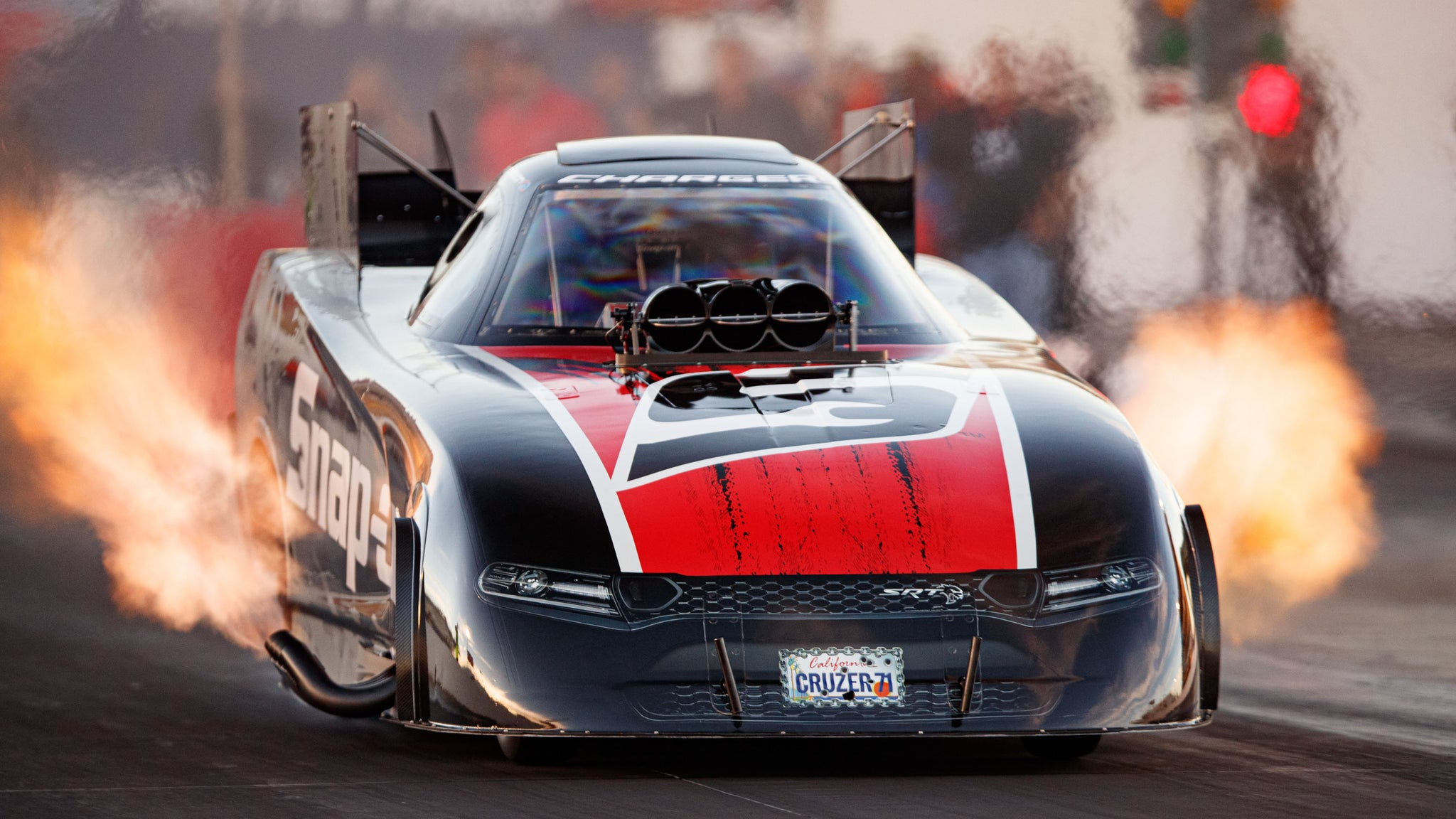 Photographing 300+mph NHRA Drag Cars During Testing - Right