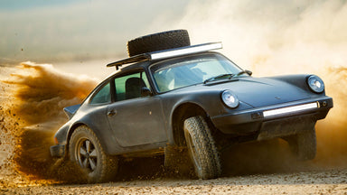 Porsche Blasphemy Never Felt So Good: Kelly Moss Safari Spec 911
