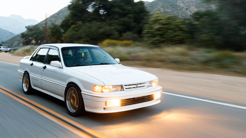 BIG Turbo 500+hp Galant VR-4, AKA the Mitsubishi Evo's Grandfather