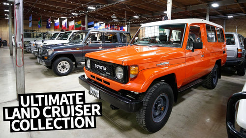 The Greatest Land Cruiser Museum Ever??