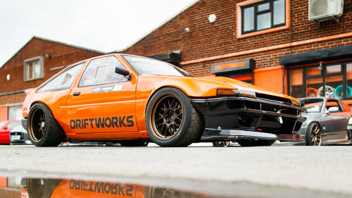 An AE86 For the Haters: 700hp ASCAR Swapped Drift Corolla!