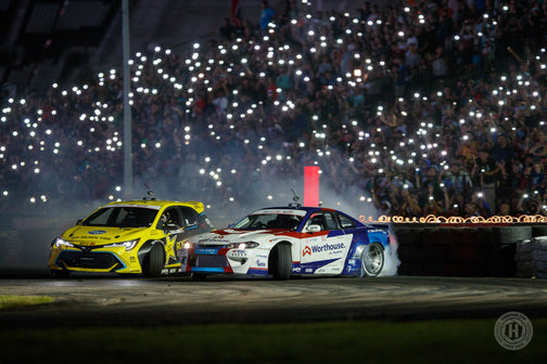 Machine Gun Larry Shoots Formula Drift Texas