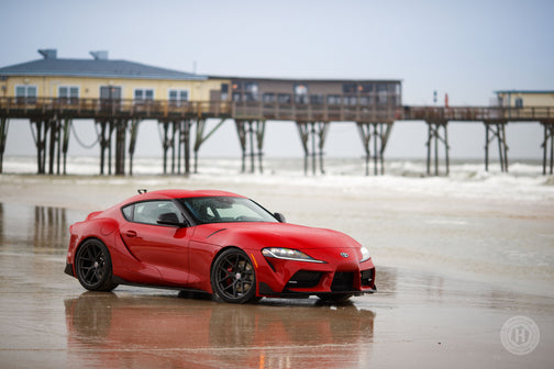 Hanging Out With TRD By The Beach