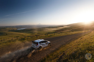 Enjoying the Views at Oregon Trail Rally