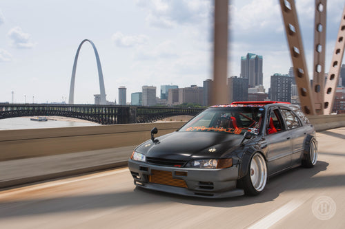 Honda Hot Rod – Part Accord, Part Nissan, a Tire-Slaying RWD Wagon