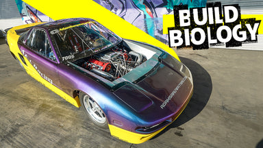 1,300hp Front-Engined Acura NSX is Old School Import Drag Racing Royalty
