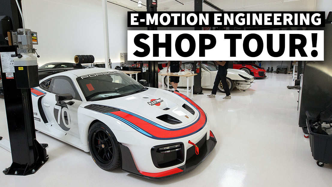 Street/Track Ready Porsches Galore: E-Motion Engineering Shop Tour