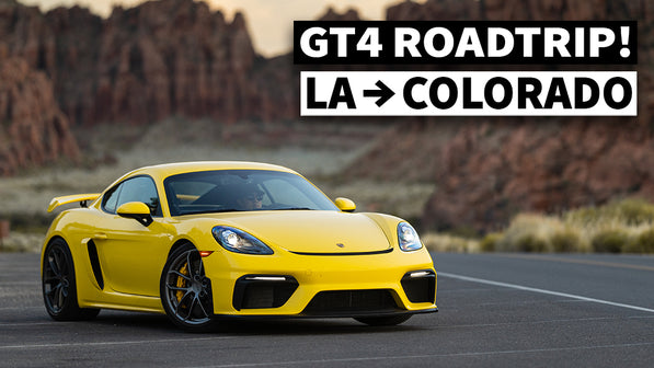 Is the Porsche Cayman GT4 Road-Trippable? 000 Magazine Photoshoot mega trip to Pikes Peak