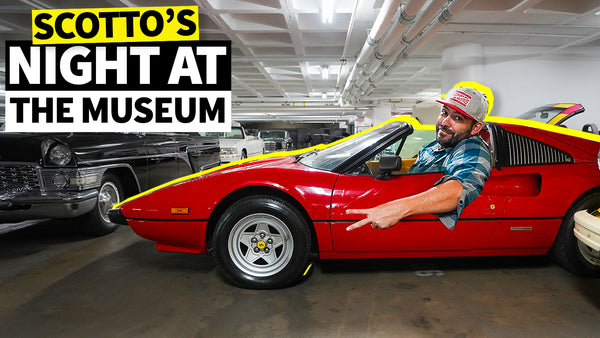 We Got the Keys to the Petersen Automotive Museum… Alone!!