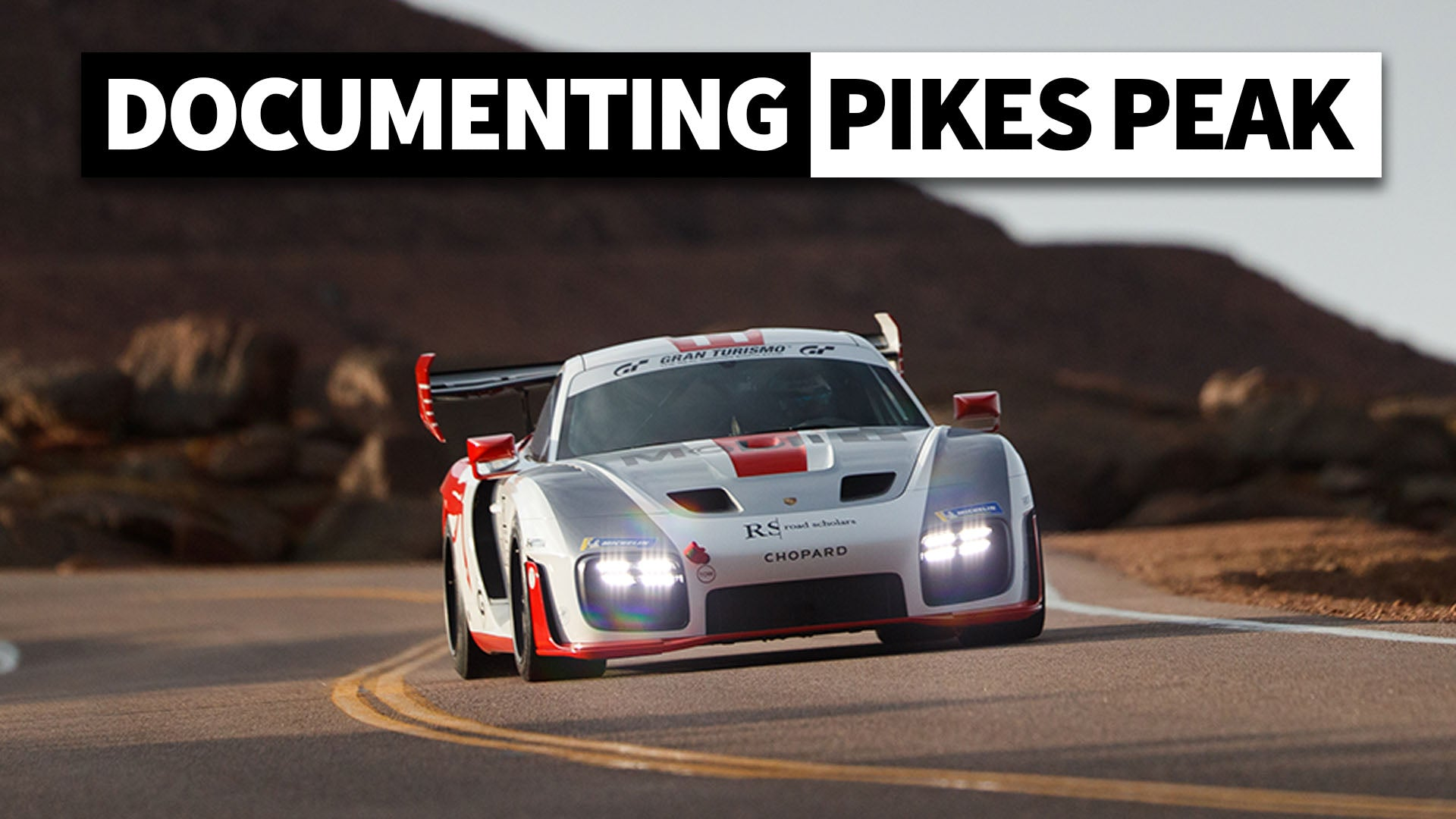 One of the World's Toughest Races to Shoot: BTS With the Official Pikes Peak Hillclimb Photo Crew