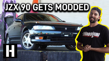 Toyota JZX 90 Drift Missle! Ron starts Modding his Japanese Import
