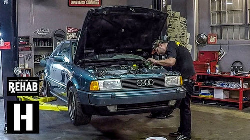 Starting Scotto's Audi Coupe Quattro After 10 Years in Storage