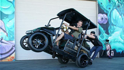 Introducing the Hoonigan Player Special - 2 Stroke 750cc Golf Cart - Episode 05