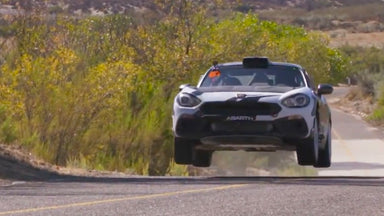 Mexican Hillclimb with Sara Price and the Fiat 124 Abarth Rally