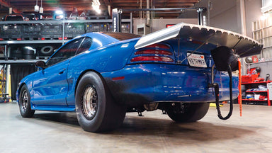 1500 horsepower 7 Second Turbo Drag Mustang... With LSX power