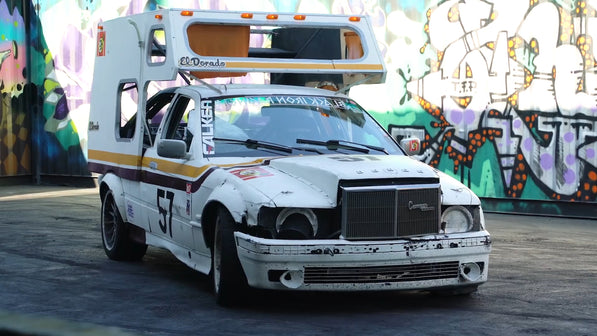 V8 BMW E36 Camper Lemons Race Car