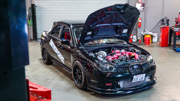 Street Driven 9 Second 850hp Subaru STI