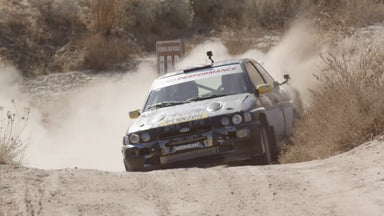 Ken Block Ford Escort Cosworth RS Gravel Testing