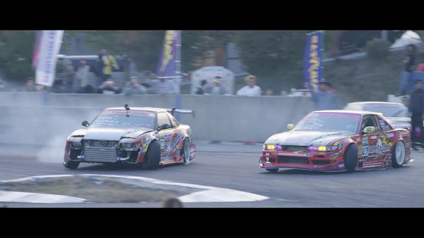 Animal Style Goes to Japan - American Drifters attack Meihan Sportsland