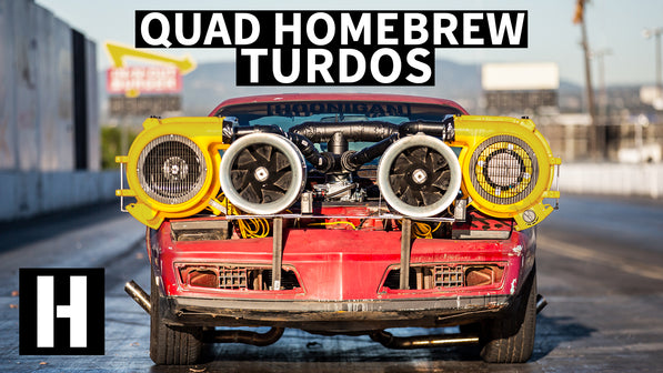 Homemade QUAD Turdo Setup: Will it Work?? The Firebird Gets Retribution!