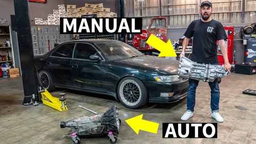Auto to Manual Swap: JZX90 Mark II Goes Five Speed. Ultimate JDM Daily?