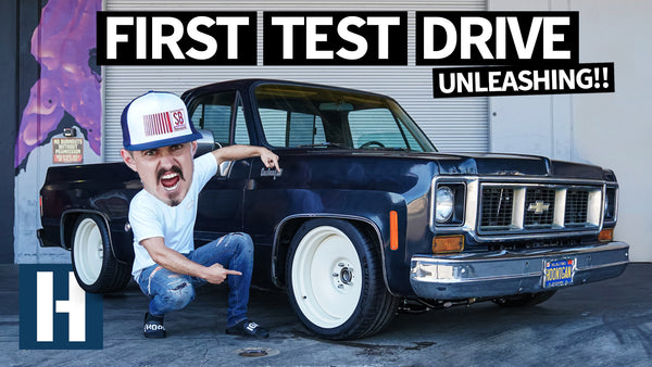 Texas Speed Powered Chevy C10 First Drive! Tuning the World's Loudest Chopper Hauler