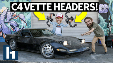 Our Editor's Abandoned C4 Corvette Gets Headers - Does it Sound Better?