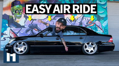 Stock to Slammed: Ultimate Hotboi Daily Driver Lexus LS430 Get Slammed on Air Ride