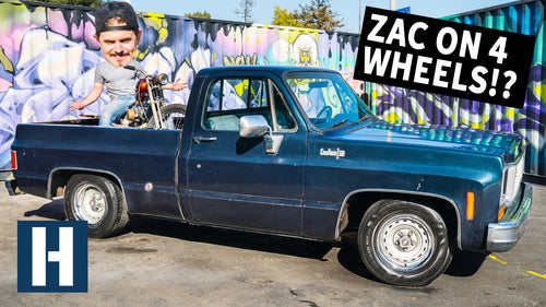 '74 Chevy C10 Chopper Hauler: Zac's First Four Wheeled Project!