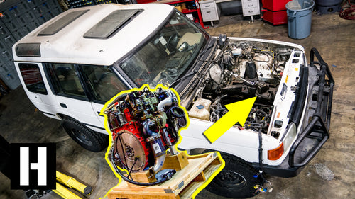 Cummins R2.8 Turbo Diesel Soon to Power Scotto's Land Rover Discovery?!? #semacrunch