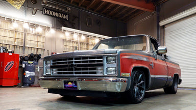 Ultimate Squarebody Street Truck? 600+ hp Supercharged LS '86 Silverado That Handles, Too.