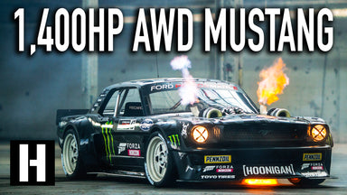 Ken Block's 1,400hp AWD Ford Mustang Hoonicorn V2: Straight from Gymkhana TEN!