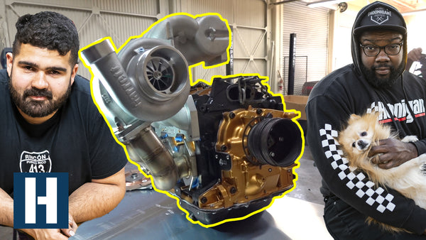 Hert's FD3S gets a custom V-Mount intercooler thanks to Chairslayer and Vargas!