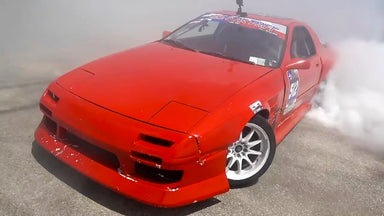 V8 RX-7 Gets Rowdy for Secret Shredhouse Austin Finale