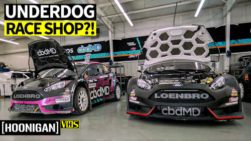 How This 6-Person Rallycross Crew Competes With World-Class Teams: Steve Arpin's Race Shop!