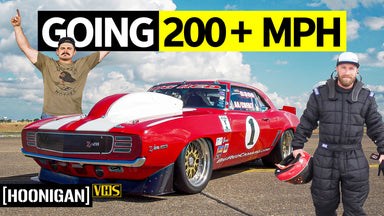 2000hp, a Camaro and an Empty Airfield: Standing Mile Racing Big Red Camaro