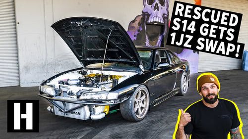 It Runs!! Rescued S14 Drives for the First Time in 10 Years