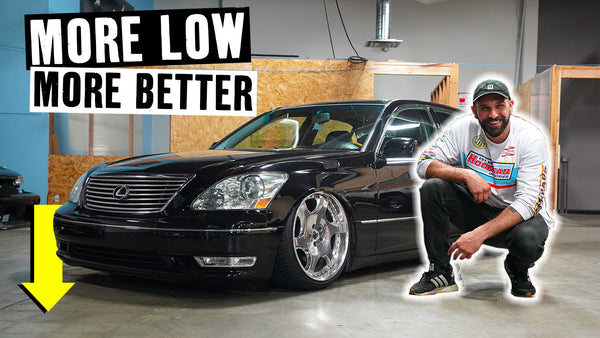Vin's Airbagged Lexus LS430 Gets Even Lower Than Before // 621 Golden Ep 018