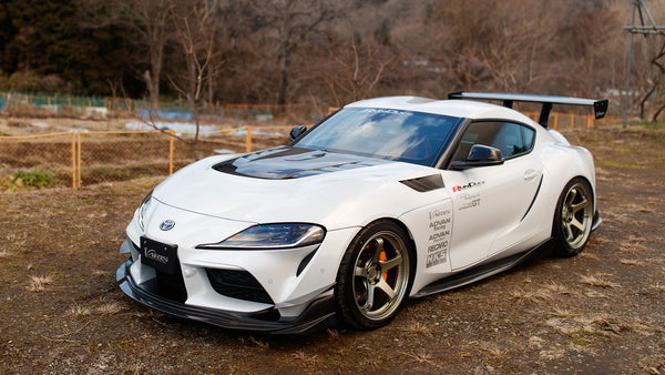 JDM House of Carbon: Varis Japan and their Kitted Supras