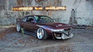 Slammed + 1jz Swapped 240sx Goes Full Send: Shreeve Kills it at the Secret Shredhouse!