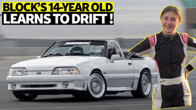 Ken Block's 14y/o Daughter Gets Drift Lessons from Formula Drift Champ -Vaughn Gittin Jr.