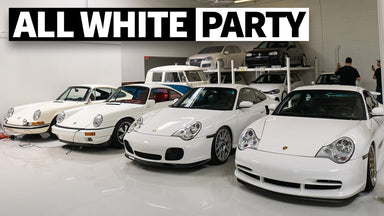 Chicago's Most Tasteful Car Collection? Megatour of Richard Fisher's Insane All-White Fleet