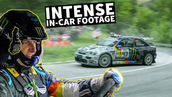 Ken Block's All-GoPro Cossie V2 Raw Onboard Footage- Blistering Fast Tarmac Stage. Rally Legend - S7